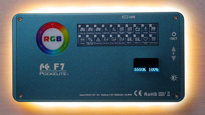 Falcon Eyes F7 RGB LED