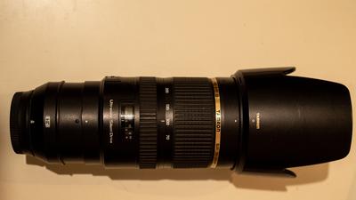 Tamron SP 70-200mm F/2.8 Di VC USD Teleobjektiv (Nikon)