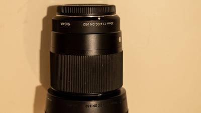 Sigma 30mm 1:1.4 DC (MFT)