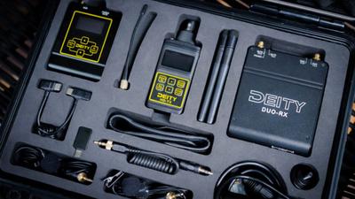 Deity Connect 2,4 Ghz Dual-Funkstrecke mit Lav-Mics im Set