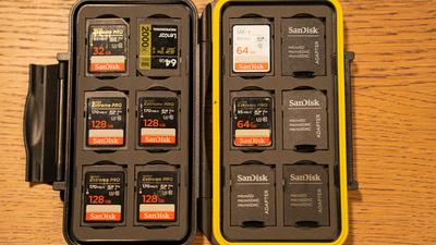 Speicherkarten jeglicher Art (16GB-128GB)