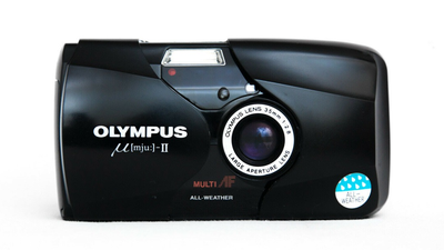Olympus mju-2 µ-II Analog Kompaktkamera