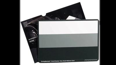X-Rite ColorChecker Grey Scale