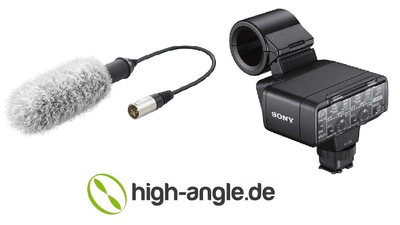 Sony XLR-K2M + Mikrofon