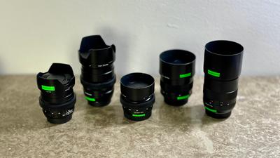 ZEISS 5x Lens Set EF mit Gear Ring / 25, 35, 50, 85, 100mm