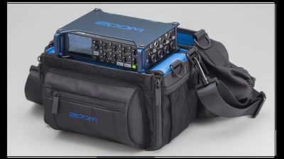 Zoom F8 Audirecorder in der Tasche