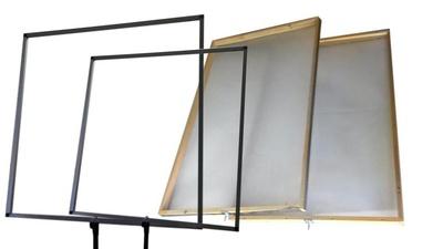 Rahmen für Diffusion/Folien/Molton