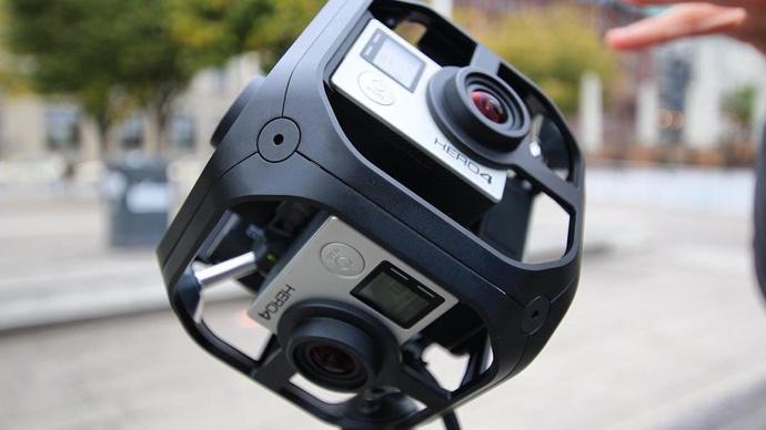GoPro Omni Rig Komplettset für 360 Grad Filme (High End)
