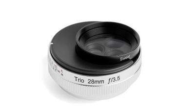 Lensbaby Trio28 f/3.5 Objektiv - für MFT Micro 4/3