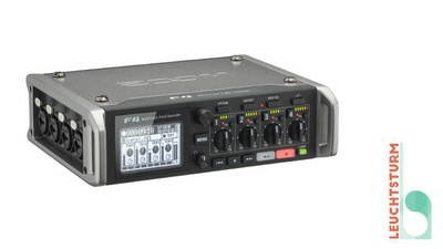 Zoom F4 - 8-Spur Field-Audiorecorder