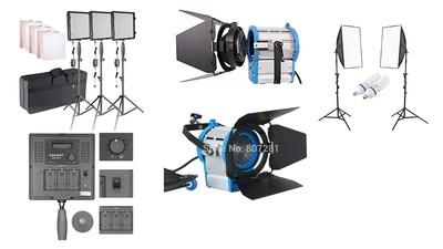 Light Production Set (Neewer CN576, Tungsten 600w, Softbox)