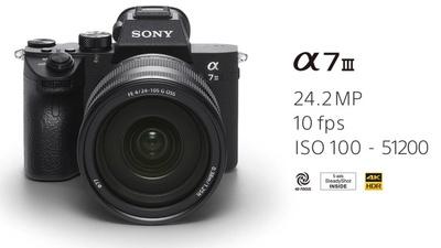Sony A7III inkl. 2 Akkus & 64 GB SanDisk Pro