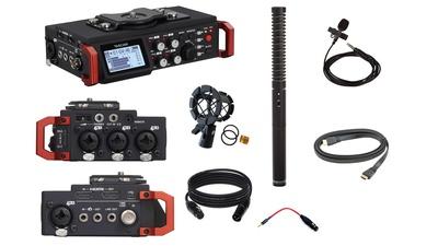 Sound Recording Set (Tascam 701d, Rode NTG-2, SmartLAV)