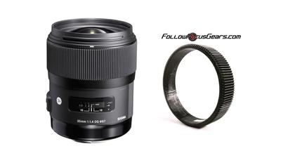 Sigma ART 35mm f/1,4 Canon EF (optional mit FollowFocus)