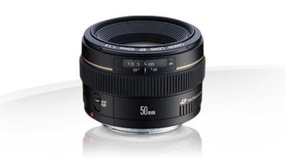 Canon EF 50mm F/1.4 USM Objektiv Vollformat