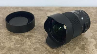SIGMA 20mm f/1.4 ART HSM – Canon EF