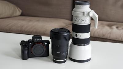 FILM/FOTO KIT Sony a7iii + Tamron 28-75mm + Sony 70-200mm