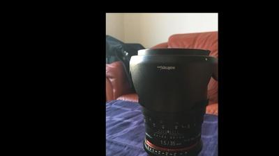 Walimex Pro 35mm 1:1,5 E-Mount Sony