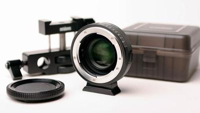 Speedbooster Viltrox 0,71x MFT to Nikon - top!