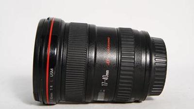 Canon 17-40mm F4.0