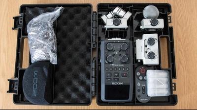 Zoom H6 Recorder mit Zubehör