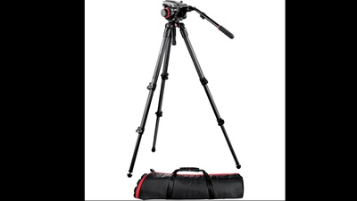 Manfrotto 504HD + 535 carbon legs