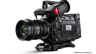 Blackmagic URSA Mini Pro 4.6K + Shoulder-Kit + Viewfinder