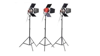 Set 3x Redheads 800w Kunstlicht