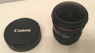Canon 8-15mm Fisheye f4