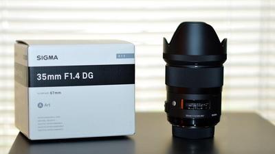Canon Sigma 35mm Art f1/4