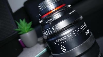 Xeen 50mm Cinema-lens EF-MOUNT