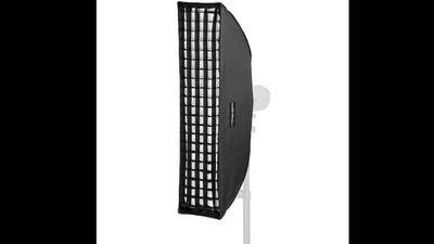 Striplight Bowens 140x30cm mit Waben