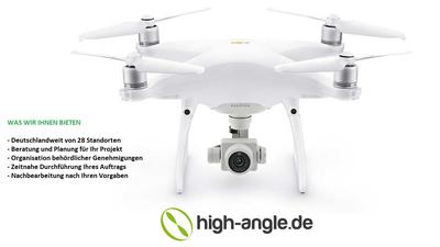 Videopaket privat - Luftaufnahmen mit Drohne inkl. Operator