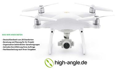 Fotopaket privat - Luftaufnahmen mit Drohne inkl. Operator