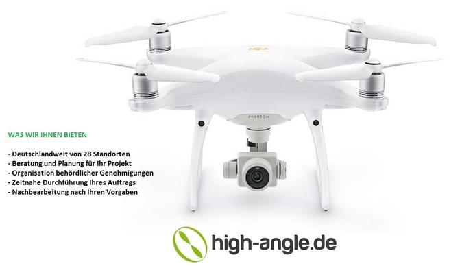 Drohne und Pilot mieten vermieten