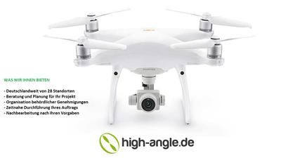 Fotopaket gewerblich - Luftaufnahmen mit Drohne und Operator