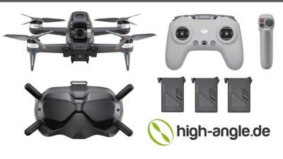 DJI FPV Drohne + Pilot. Aufnahmen bis 140km/h