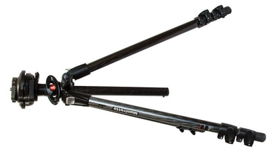 Manfrotto 190 Carbon-Kamerastativ mit 3 Segmenten 190CXPRO3