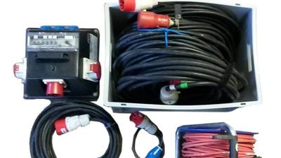 32A / 16A / Starkstrom-Set, Verteiler und Kabel