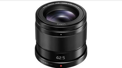 PANASONIC LUMIX G 42,5mm 1:1.7 MFT OIS Objektiv Lens