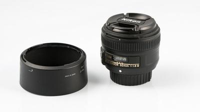 Nikon Nikkor AF-S Objektiv 50 mm F/1.8