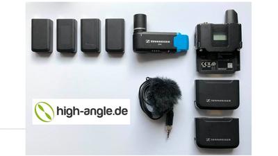 Sennheiser AVX Funkstrecke Set mit vielen Akkus