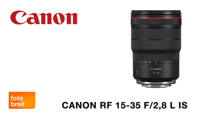 Canon RF 2,8/15-35 mm L IS USM