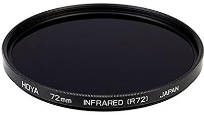 Hoya R72 Infrared Filter 82mm mit StepDown Adapter