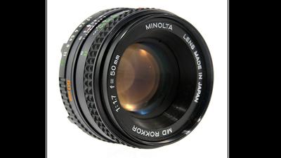 Minolta MD Rokkor 50mm F1:1.7 (EF-Mount)