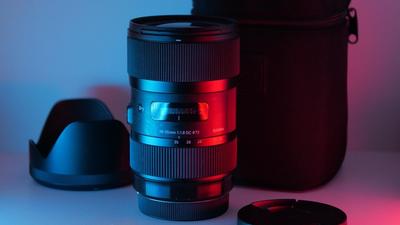 SIGMA 18-35mm f1.8 ART EF + Metabones XL 0,64 MFT Adapter