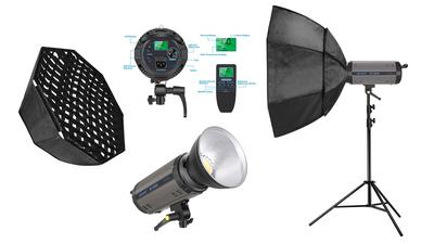 200 Watt LED Softbox 80x80 cm Licht für Video und Foto