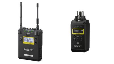 PlugOn-Sender XLR (UTX-P40) + Dual Channel Receiver (UWP-D)
