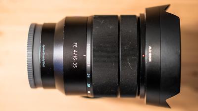 Sony Vario-Tessar® T* FE 16-35 mm F4 ZA OSS