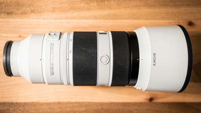 Sony FE 100-400mm F4.5-5.6 G